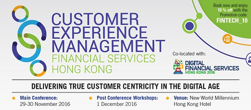 customer-experience-management-financial-services-hong-kong-summit-2016