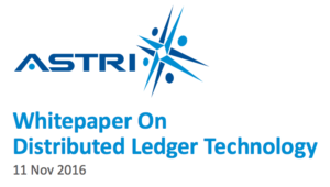 ASTRI HKMA Whitepaper on distributed ledger technology, blockchain