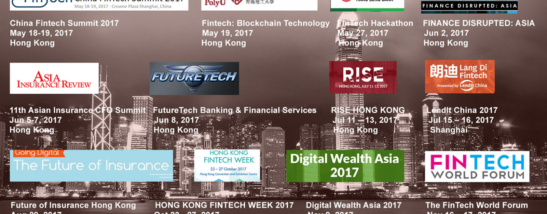12 Upcoming Fintech Events in Hong Kong and China