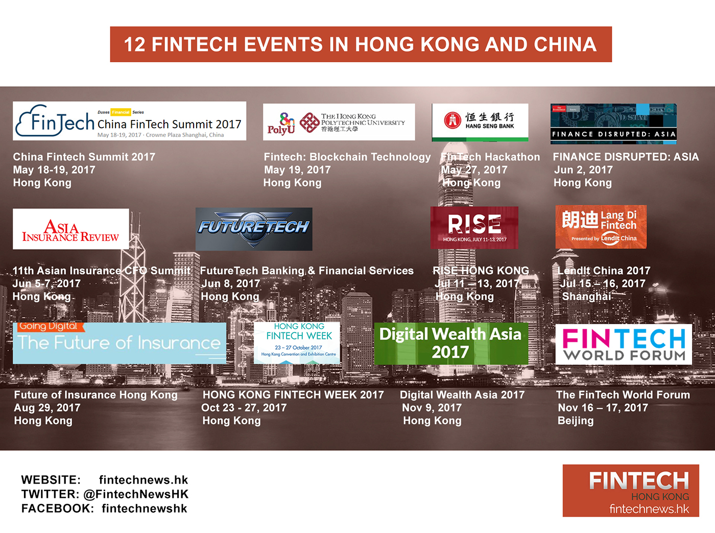 fintech events hong kong china 2017 fintechnews