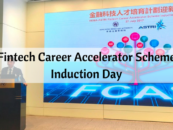 Fintech Career Accelerator Scheme Induction Day