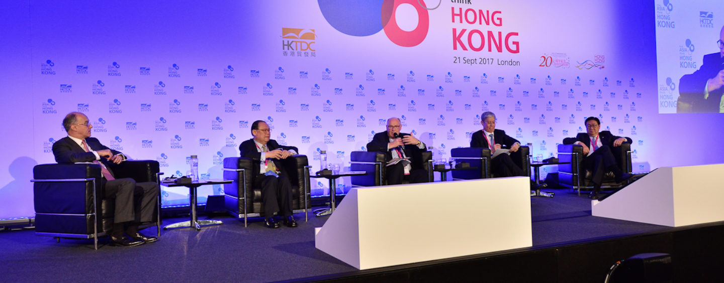 """Think Asia, Think Hong Kong"" Inspires London Audience"