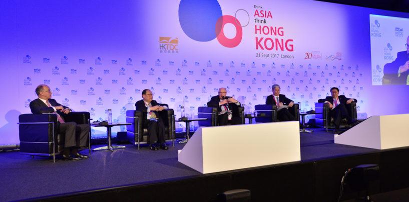 """Think Asia, Think Hong Kong"" Inspires London Audience"