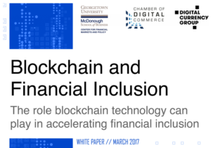 Blockchain and Financial Inclusion The role blockchain technology can play in accelerating financial inclusion