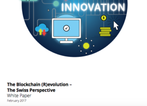Blockchain revolution Swiss Perspective