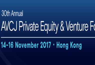 The 30th AVCJ Private Equity &; Venture Forum to Take Place in November