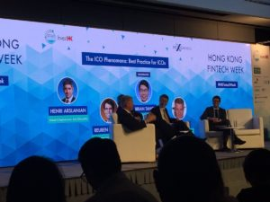 Hong Kong Fintech Week 2017 The ICO Phenomena