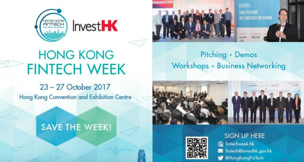 Hong Kong Fintech Week 2017 program