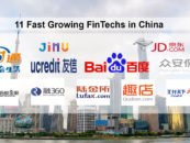 11 Fast Growing FinTechs in China