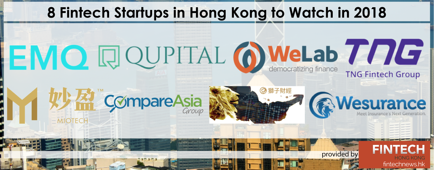 8 Future Fintech Unicorn Startups in Hong Kong to Watch in 2018