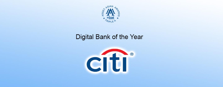 """Citi Hong Kong named """"Digital Bank of the Year"""""""