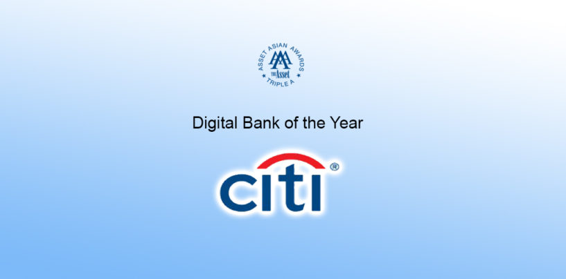 "Citi Hong Kong named ""Digital Bank of the Year"""