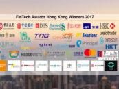 FinTech Awards Hong Kong Winners 2017
