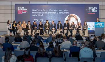 Millennials joined a panel discussion
