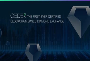 CEDEX Token Pre-Sale – Transforming Diamonds into a Tradeable Asset