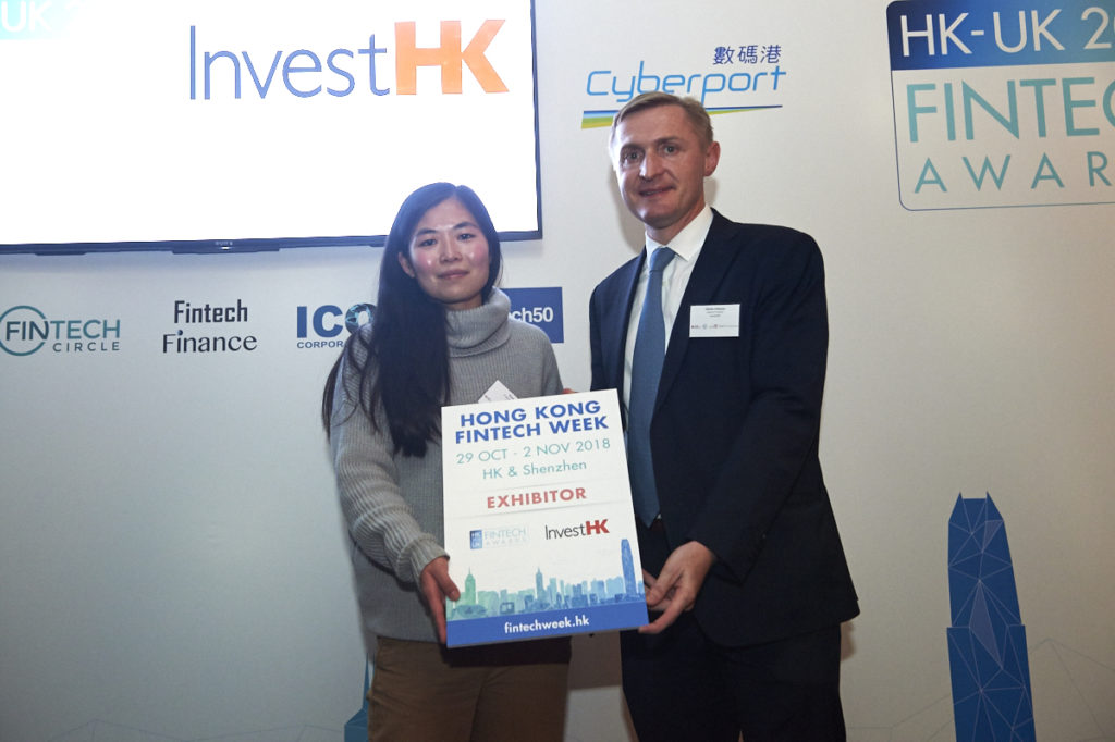 InvestHK UK Fintech Awards 2018 - AidTech