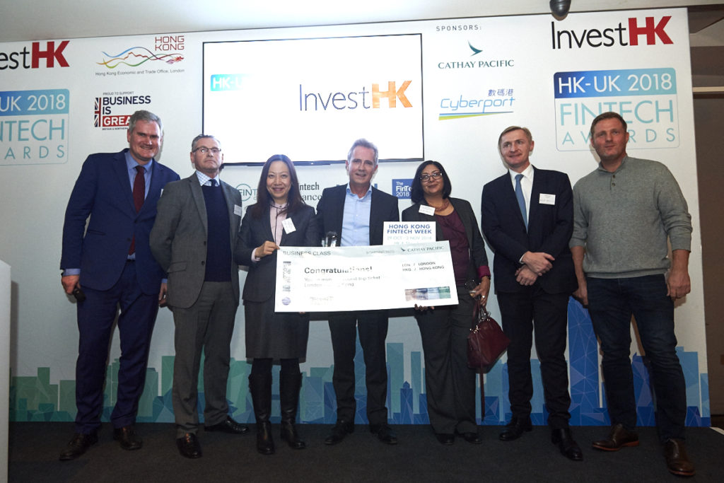 InvestHK UK Fintech Awards 2018 -Mosaic Smart Data