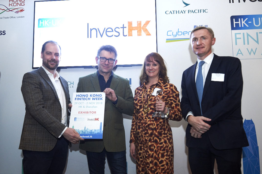 InvestHK UK Fintech Awards 2018 - Railsbank