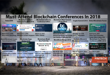 13 Must-Attend Blockchain Conferences In 2018