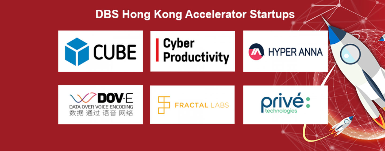 6 new Fintech Startups in the DBS Hong Kong Accelerator