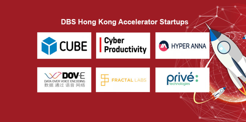 6 new Fintech Startups in the DBS Hong Kong Accelerator
