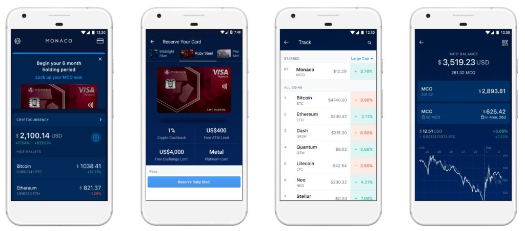 Android_Monaco Launches Wallet App to Bring Cryptocurrency to Every Wallet