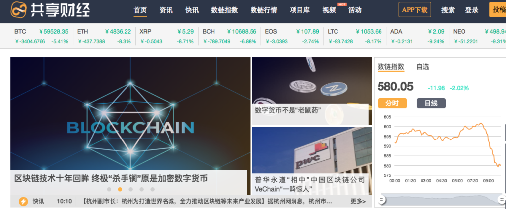 Gungxiang Finance blockchain media