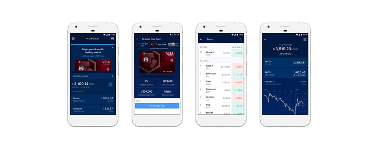 Monaco Launches Wallet App To Bring Cryptocurrency Every