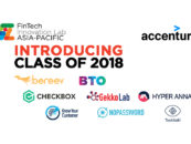 8 Startups Selected for Accenture's 2018 FinTech Innovation Lab Asia-Pacific