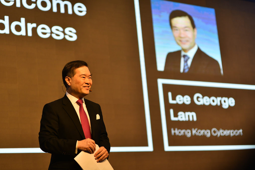 Dr Lee George Lam, Chairman, Hong Kong Cyberport