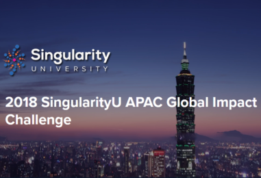 Taiwan Startups Win Singularity University's First APAC Global Impact Challenge