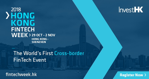 Fintech Week Hong Kong 2018 blue