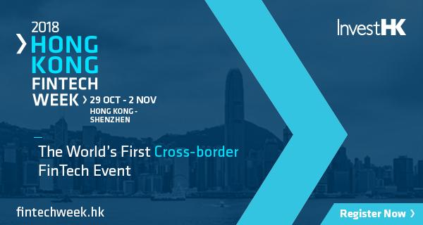 Fintech Week Hong Kong 2018 blue