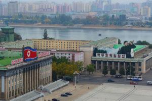 Kim Il Sung Square in Pyongyang Fintech North Korea