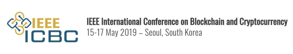2019 IEEE International Conference on Blockchain and Cryptocurrency