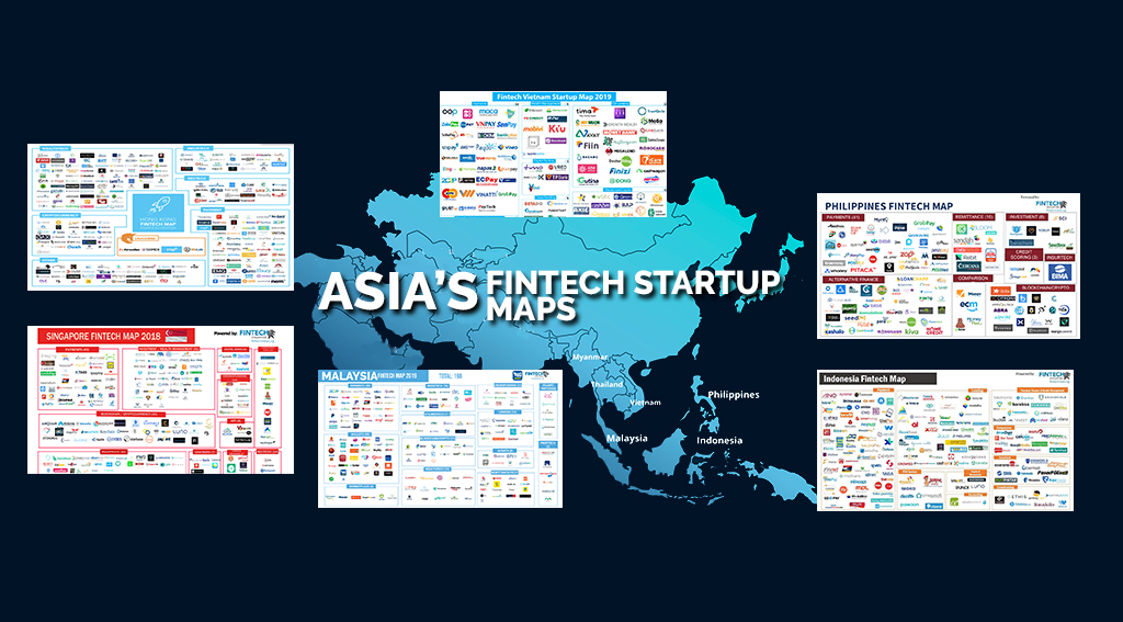 ASIA'S FINTECH STARTUP MAPS