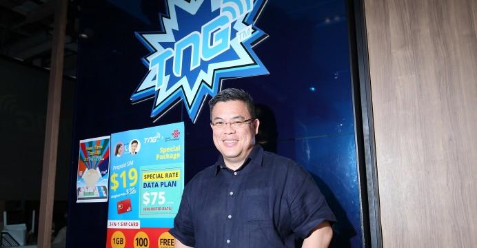 Alex Kong, Founder and Chairman of TNG FinTech Group, via TNG Fintech Group