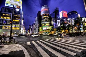 Ginza at Night, Tokyo, Wikipedia