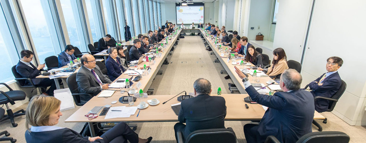 HKMA Holds High-level Fintech Roundtable with 30 Central Banks