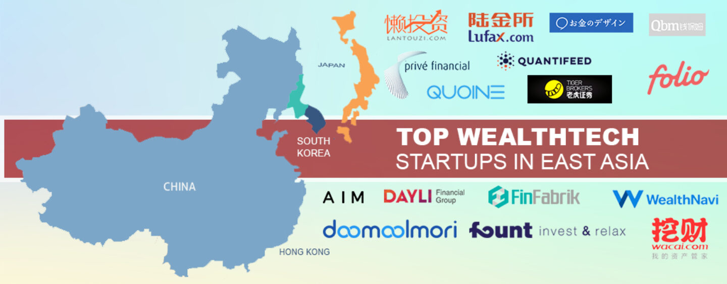 Top Wealthtech Startups in East Asia