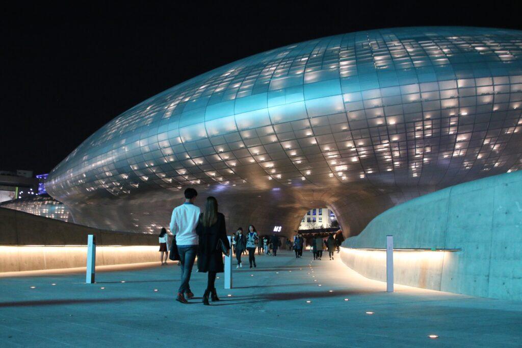 South Korea Fintech - Korea Fintech Week - Dongdaemun_Design_Plaza