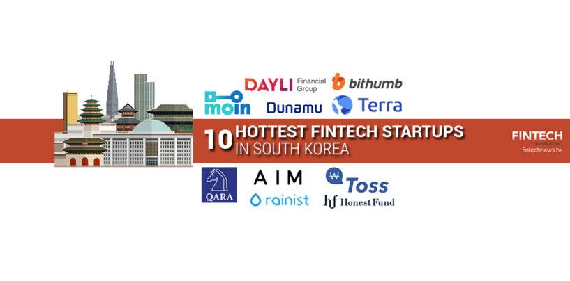 Top 10 Hottest Fintech Startups in South Korea