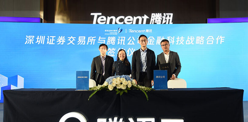 Shenzhen Stock Exchange Partners Up with Tencent to Launch Fintech Innovation Lab