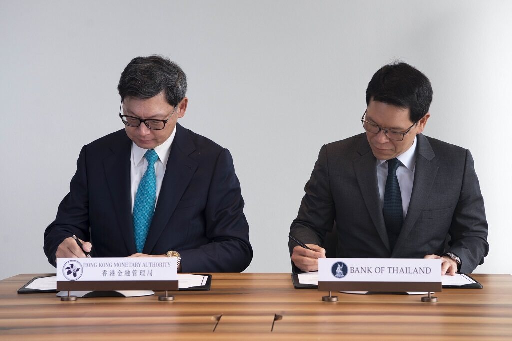 hong kong thailand memorandum of understanding mou