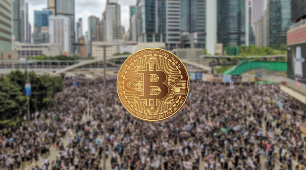 Hong Kong Protest Bitcoin
