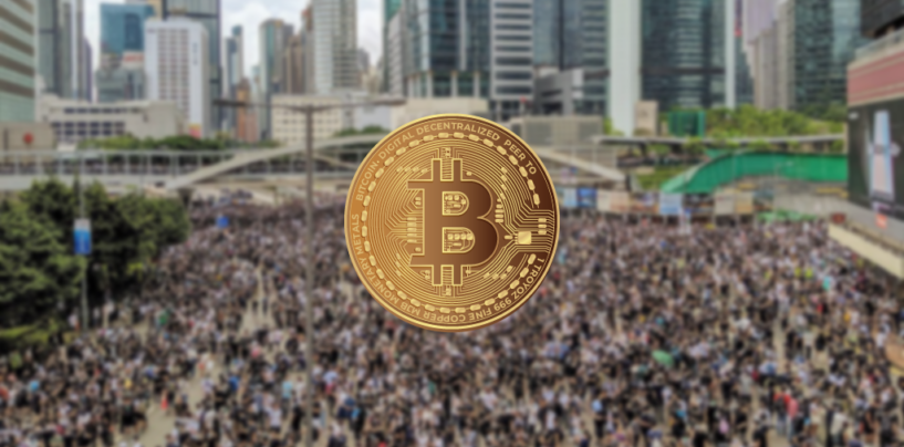 Hong Kong's Protest Driving Demand and Price for Bitcoin