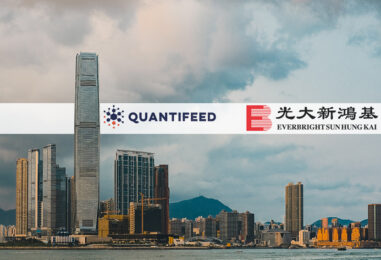 Quantifeed Launches Robo Advisor in Hong Kong with Everbright Sun Hung Kai