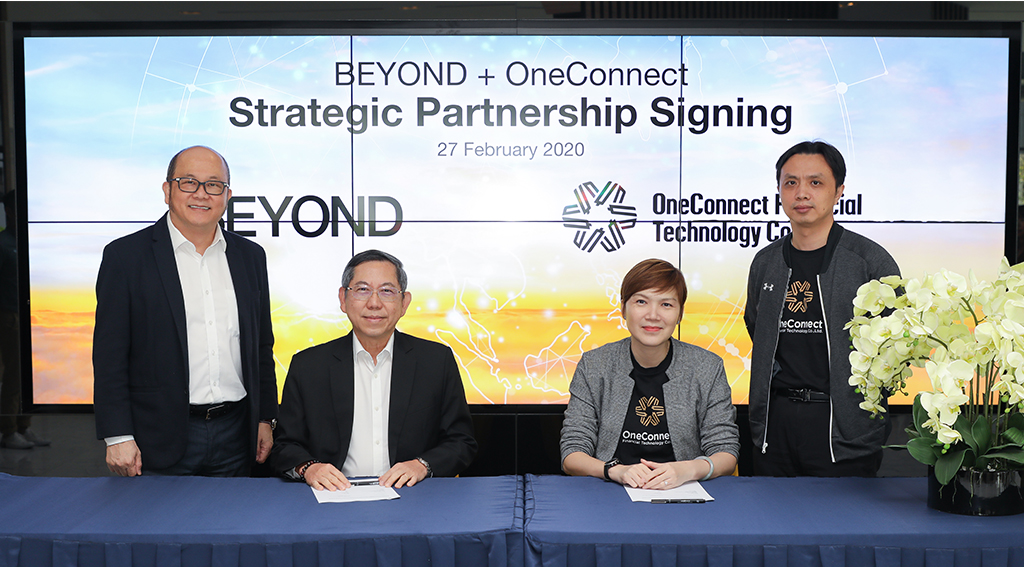 BEYOND Selects NYSE-Listed OneConnect Financial Technology As Strategic Tech Partner In Bid For Singapore Digital Full Bank License