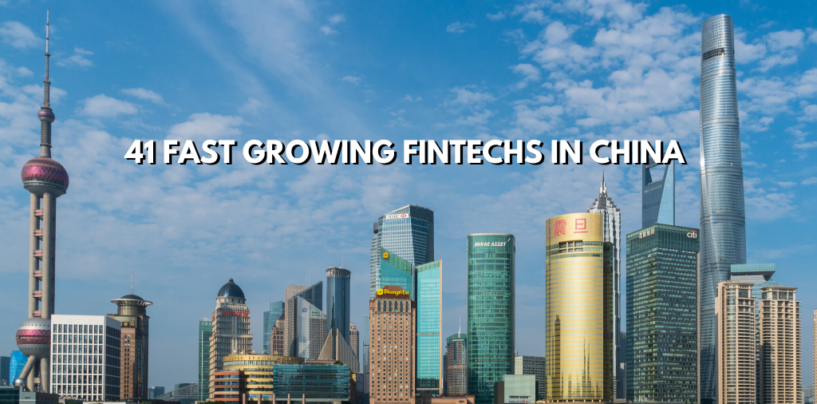 41 Fastest Growing Fintechs in China According to IDC