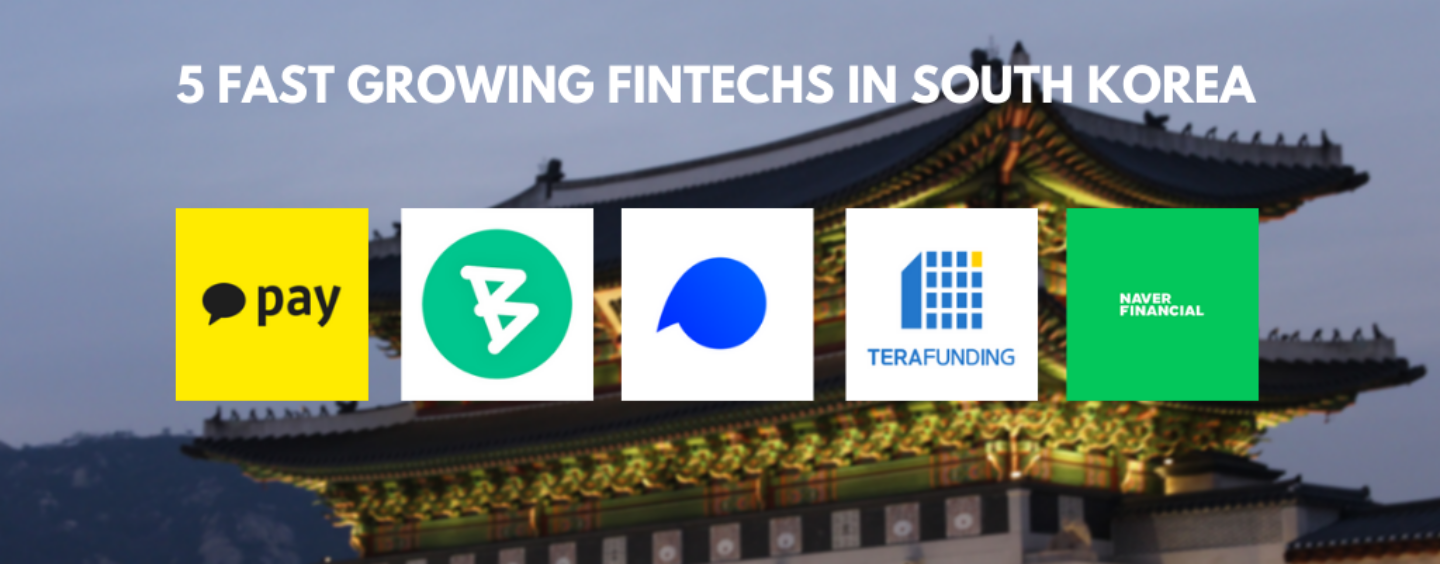 5 Fast Growing FinTechs in South Korea According to IDC